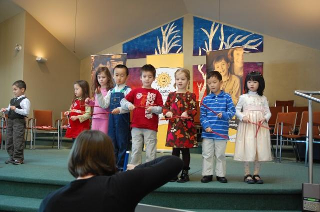Cute kids performing!