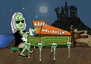 halloween bach
